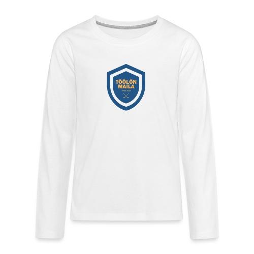 Töölön Maila - Teinien premium pitkähihainen t-paita