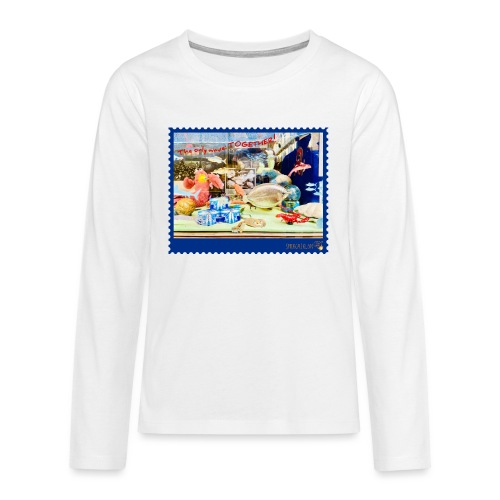 The only wave: TOGETHER! - Teenager Premium Langarmshirt