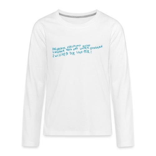 Graffiti: Zwischen Dir und Mir - Teenager Premium Langarmshirt