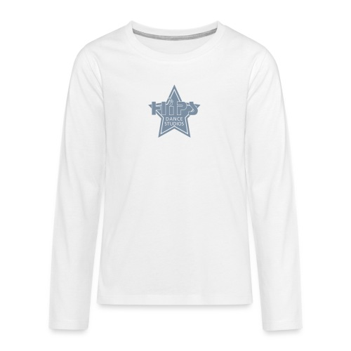 Star - Teenager premium T-shirt med lange ærmer