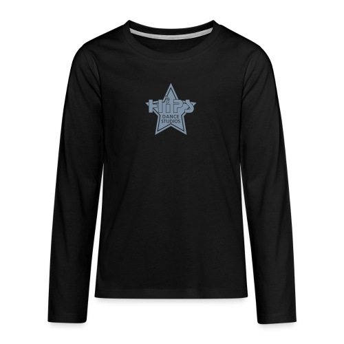 Star - Teenager premium T-shirt med lange ærmer