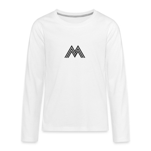 Merchandise With Deejay Michiel logo - Teenager Premium shirt met lange mouwen