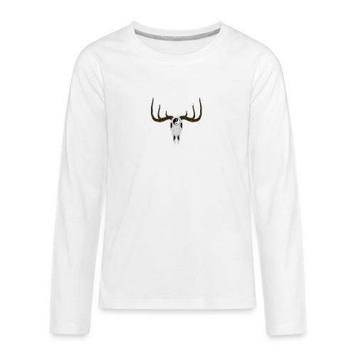 YIN & YANG - Teenager Premium Langarmshirt