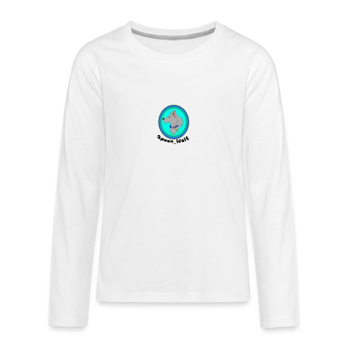 Spoon_Wolf_2-png - Teenagers' Premium Longsleeve Shirt