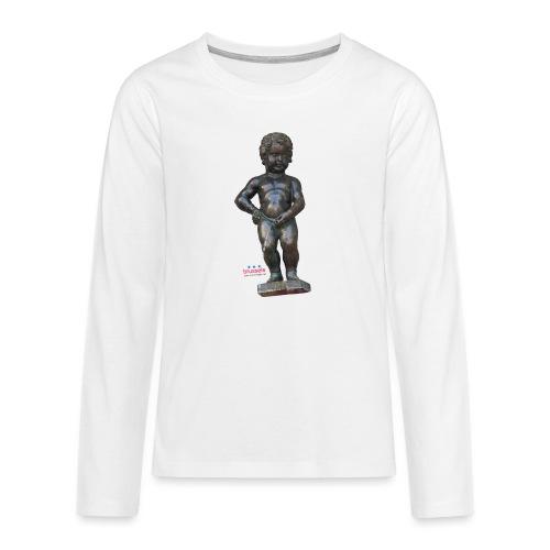 BiG REAL mannekenpis ♀♂ | 小便小僧 - T-shirt manches longues Premium Ado