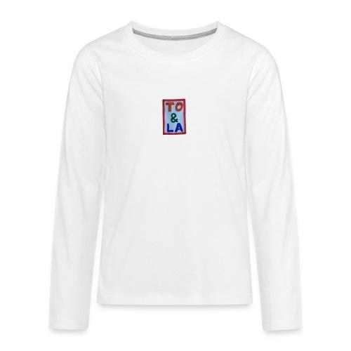 TO & LA - Koszulka Premium z długim rękawem dla nastolatków