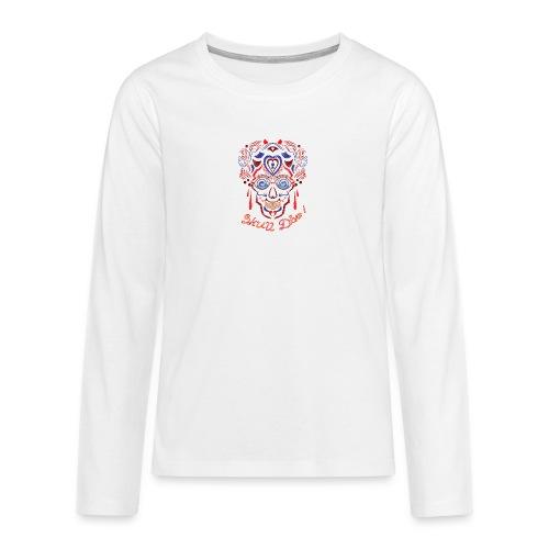 Skull Tattoo Art - Teenagers' Premium Longsleeve Shirt