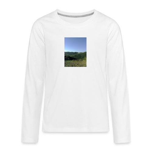 Panorama - Maglietta Premium a manica lunga per teenager