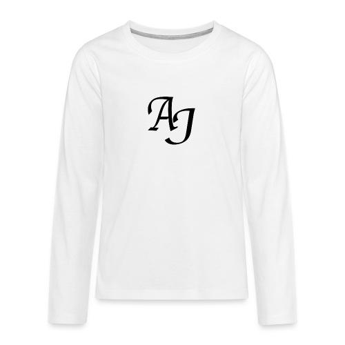AJ Mouse Mat - Teenagers' Premium Longsleeve Shirt