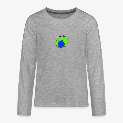 aiga cashier - Teenager premium T-shirt med lange ærmer