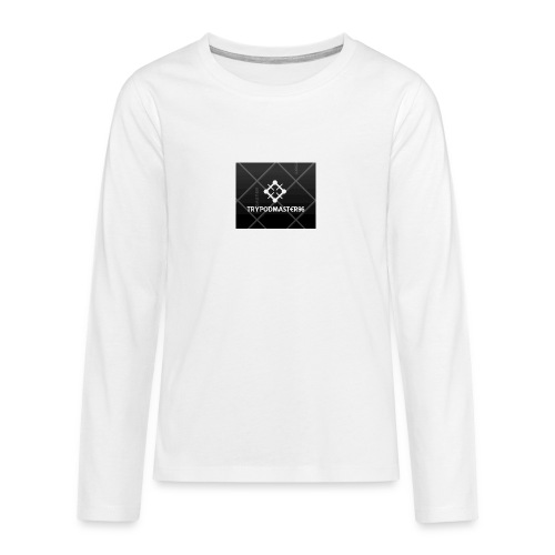 my youtube channle march - Teenagers' Premium Longsleeve Shirt