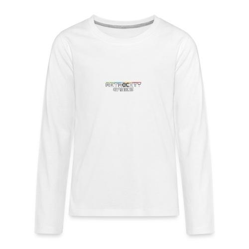 tasse officielle - T-shirt manches longues Premium Ado