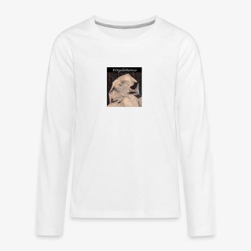 #OrgulloBarroco Teresa dibujo - Camiseta de manga larga premium adolescente