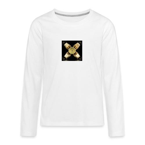 Spinneri paita - Teinien premium pitkähihainen t-paita