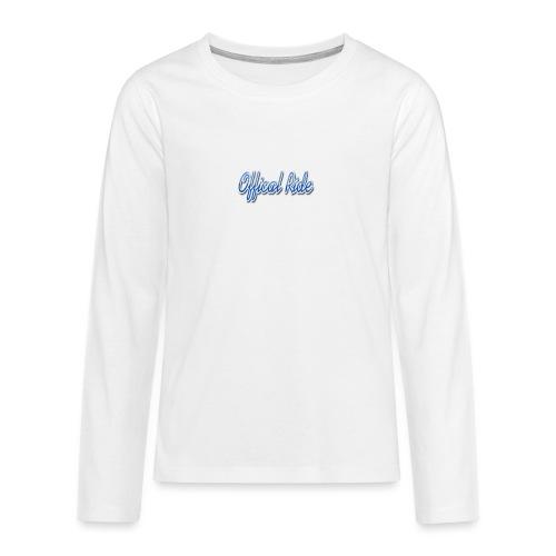 Offical Ride - Teenager Premium Langarmshirt