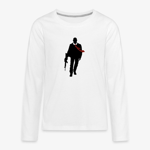 PREMIUM SO GEEEK HERO - MINIMALIST DESIGN - T-shirt manches longues Premium Ado