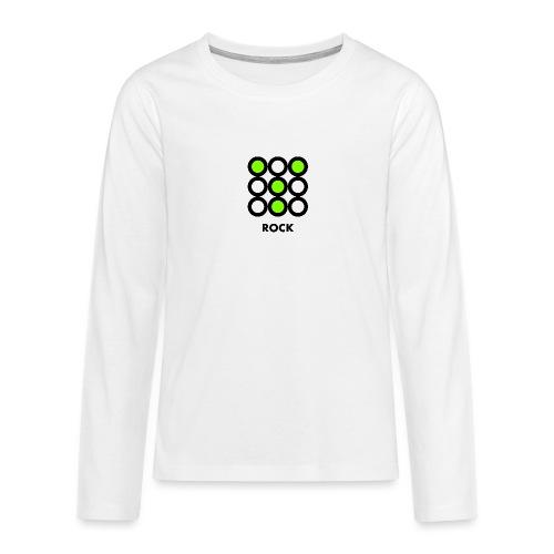 Rock - Maglietta Premium a manica lunga per teenager