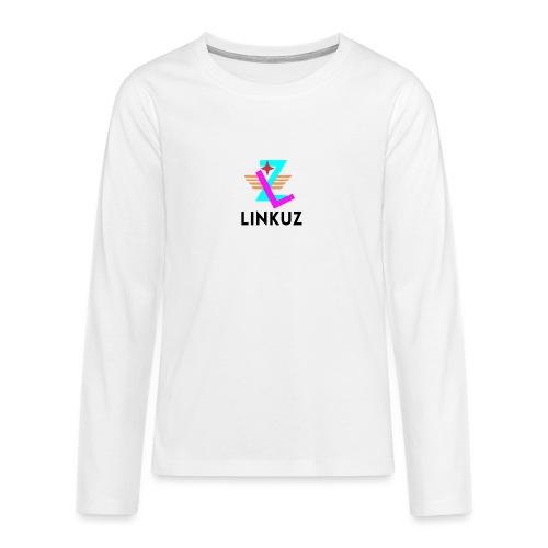 Linkuz - Långärmad premium T-shirt tonåring