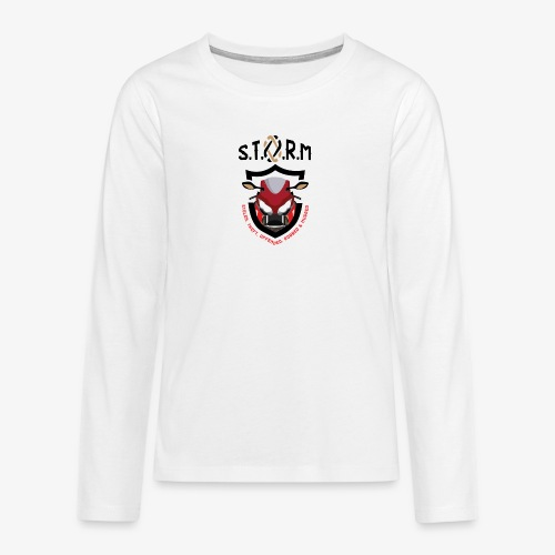 Stolen Theft Offended Robbed Mugged - Teenagers' Premium Longsleeve Shirt
