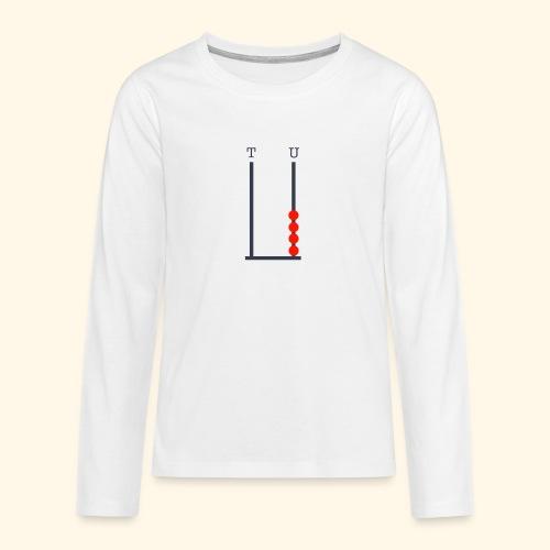 I am 4 - Teenagers' Premium Longsleeve Shirt