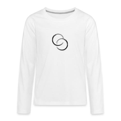 Odiek11 Merch Logo - Teenagers' Premium Longsleeve Shirt