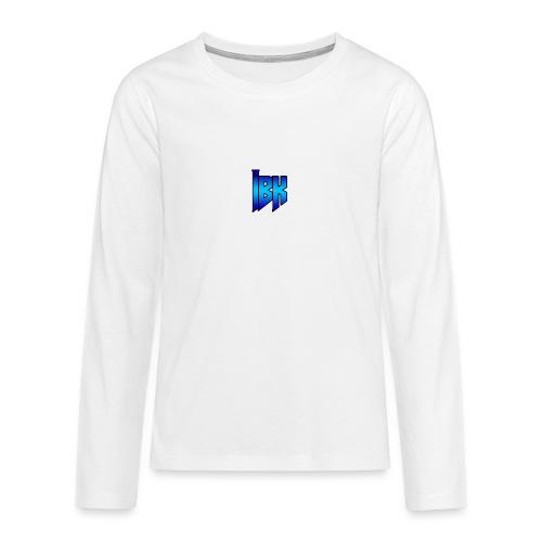T-SHIRT MET LOGO OP - Teenager Premium shirt met lange mouwen