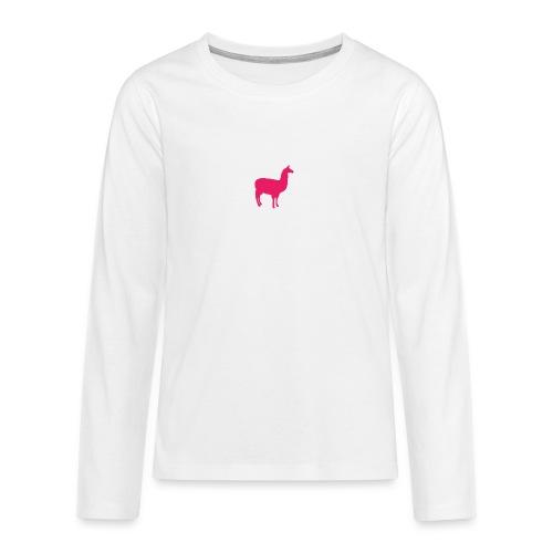 Lama - Teenager Premium shirt met lange mouwen