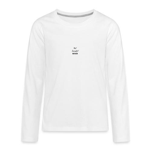 sarcástic? - Camiseta de manga larga premium adolescente