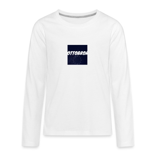 Ottobror - Långärmad premium T-shirt tonåring