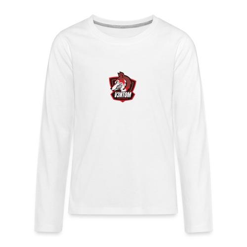 CLAN LOGO V3NTOM - Teenager Premium Langarmshirt