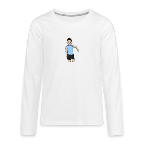 OfirGaming HD logo - Teenagers' Premium Longsleeve Shirt