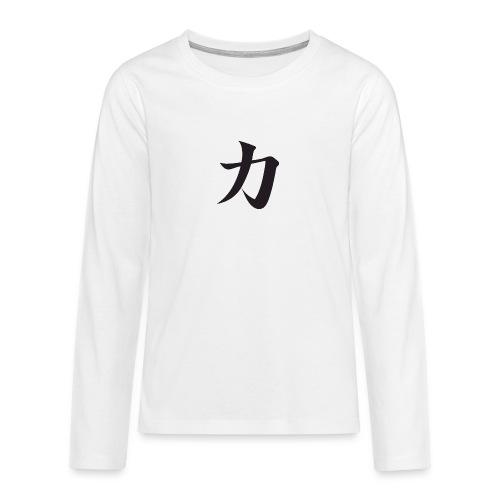Katana - T-shirt manches longues Premium Ado