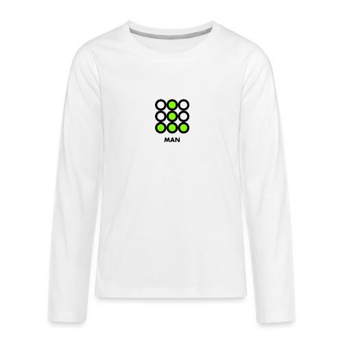 Man - Maglietta Premium a manica lunga per teenager