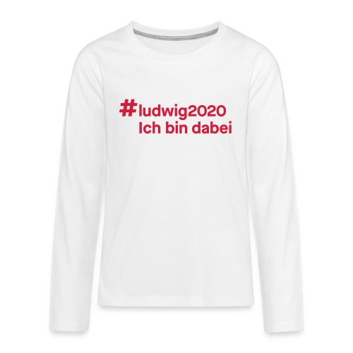 #ludwig2020 - Teenager Premium Langarmshirt