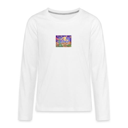 1 - Camiseta de manga larga premium adolescente