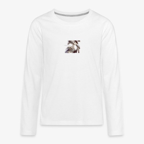 #OrgulloBarroco Rapto difuminado - Camiseta de manga larga premium adolescente