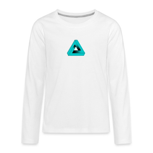 Impossible Triangle - Teenagers' Premium Longsleeve Shirt