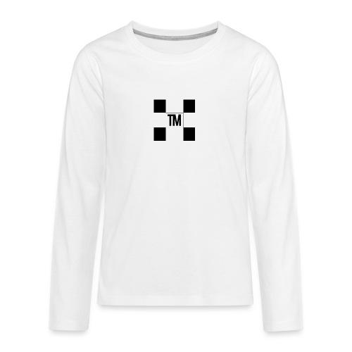 Checkered - Teenagers' Premium Longsleeve Shirt