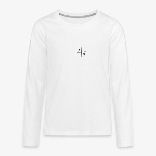 AltijdMitchell Cross Logo - Teenager Premium shirt met lange mouwen