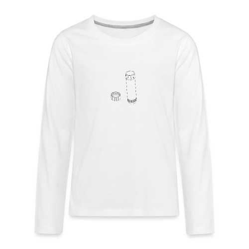 Gluestick (no text). - Teenagers' Premium Longsleeve Shirt