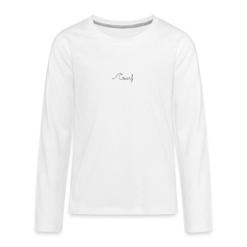 Surf en simplicité - T-shirt manches longues Premium Ado