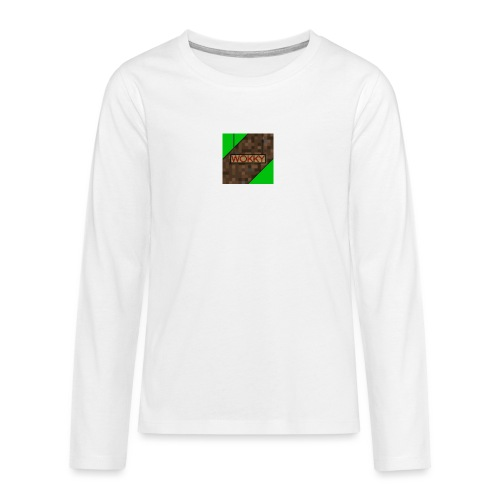Wokky T Shirt - Långärmad premium T-shirt tonåring