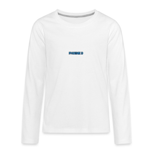 Phoenix D - Teenagers' Premium Longsleeve Shirt
