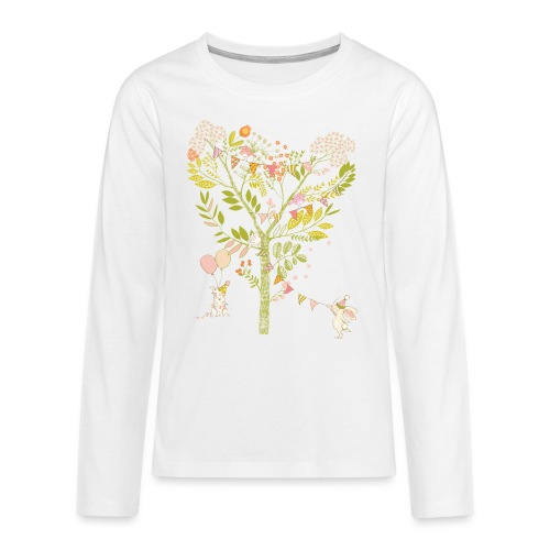 rabbit Party - Teenagers' Premium Longsleeve Shirt