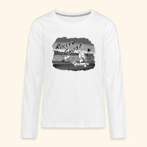 roller ghost - Teenager Premium Langarmshirt