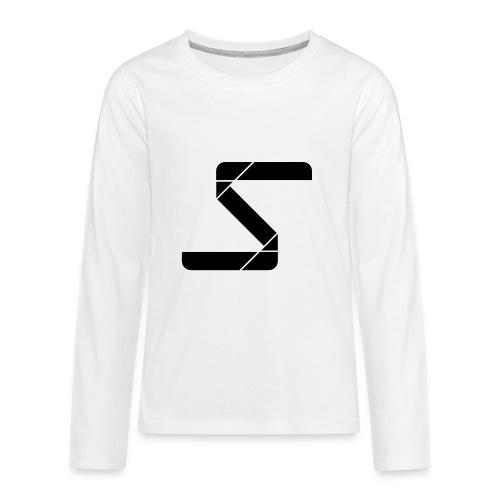 SyncNoMore Logo Vector jpg - Teenager Premium shirt met lange mouwen