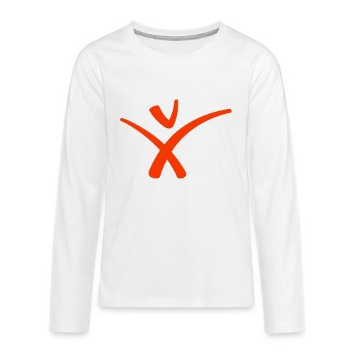 Humanisten_Männchen_Orang - Teenager Premium Langarmshirt