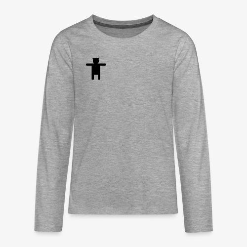Epic Ippis Entertainment logo desing, black. - Teenagers' Premium Longsleeve Shirt