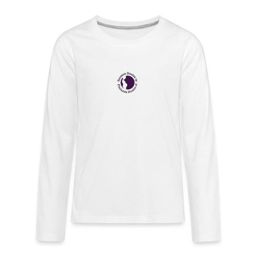 Suomen Doulat ry logo - Teinien premium pitkähihainen t-paita