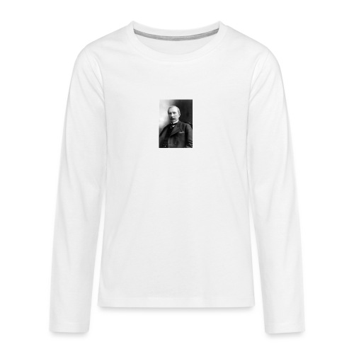 Rockerfeller - Teenager premium T-shirt med lange ærmer
